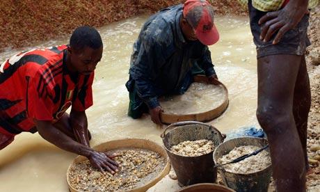 Sierra Leone Diamond Mining