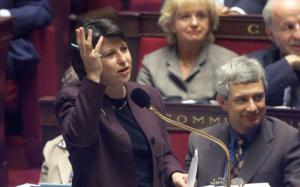 35-hour reform defending by Former French ministry of labour Martine Aubry at the French Parliament in 1997