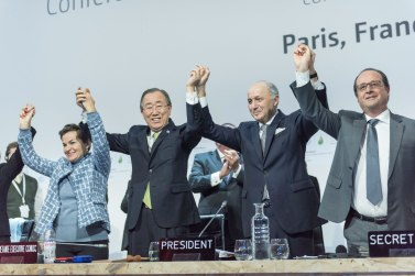 Closing ceremony of COP21