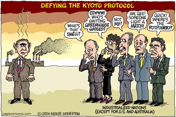 asselts views of the kyoto protocol Russia, europe, and kyoto the 9th conference of parties to the united nations framework on climate change opened in milan last week to news of a setback to the kyoto protocol.